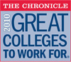 SHSU The Chronicle 2010 Great Colleges to Work For