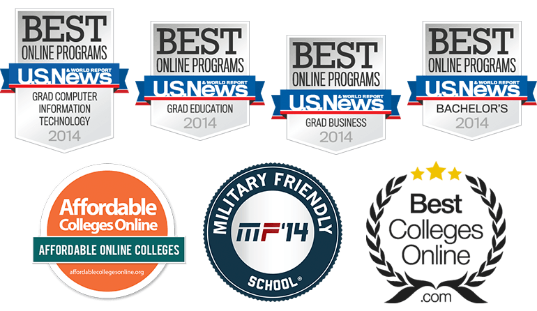 SHSU Online is ranked highly by U.S. News & World Reports, Affordable Colleges Online, Best Colleges Online, and recognized as a Military Friendly School.