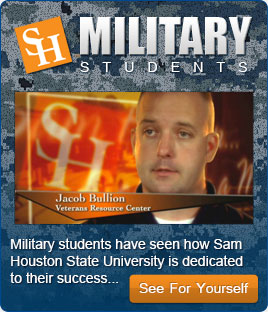 SHSU Online Military Veterans Resource Center