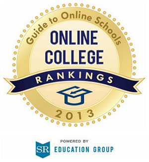 Guide to Online Schools 2013 award badge